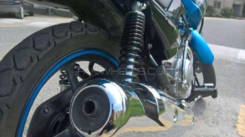 Yamaha YBR 125 - 2016 Bluebird Image-1