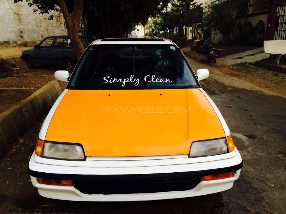 Honda Civic - 1989  Image-1