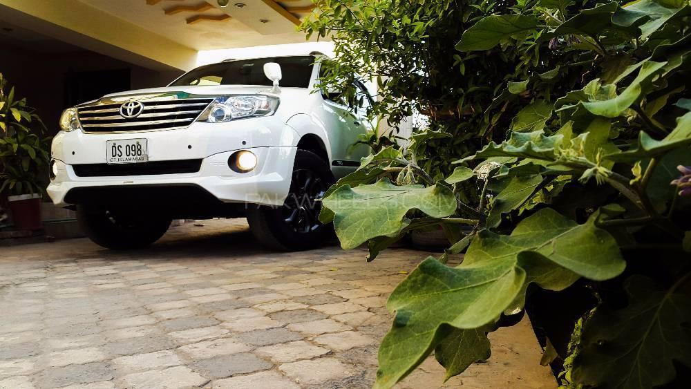 Toyota Fortuner - 2016  Image-1