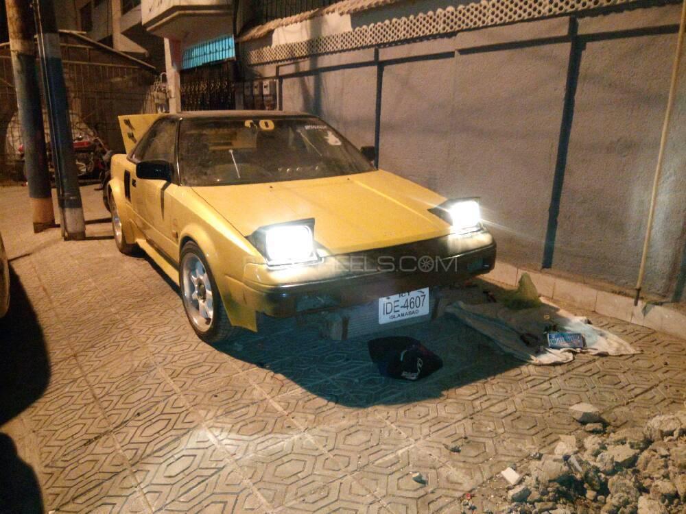 Toyota MR2 - 1986 MR2 Image-1