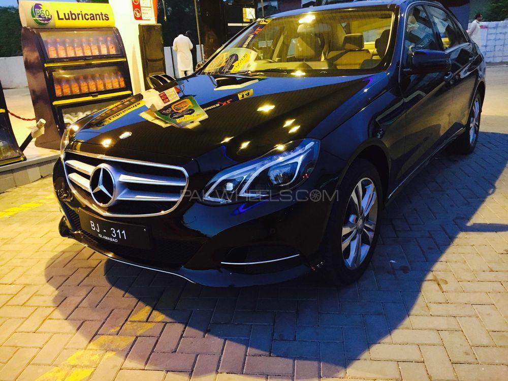 Mercedes Benz E Class - 2014 E Class Image-1