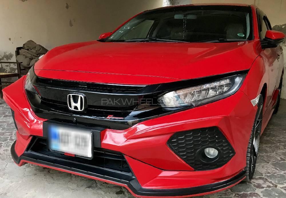 Honda Civic - 2017 Red Beast Image-1