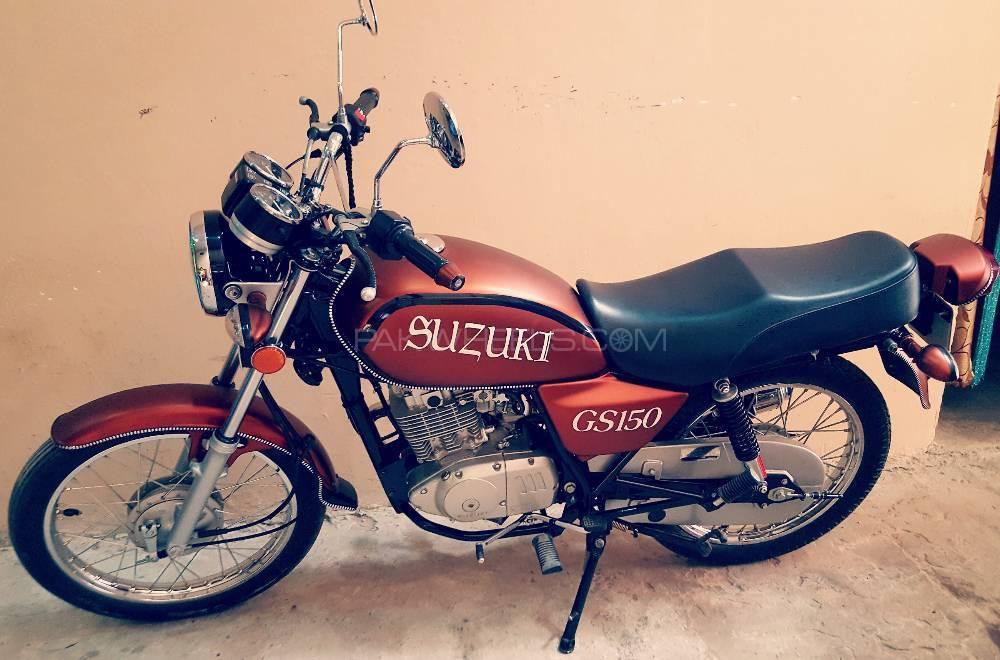 Suzuki GS 150 - 2017  Image-1