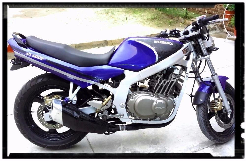 Suzuki GS 150 SE - 2001  Image-1