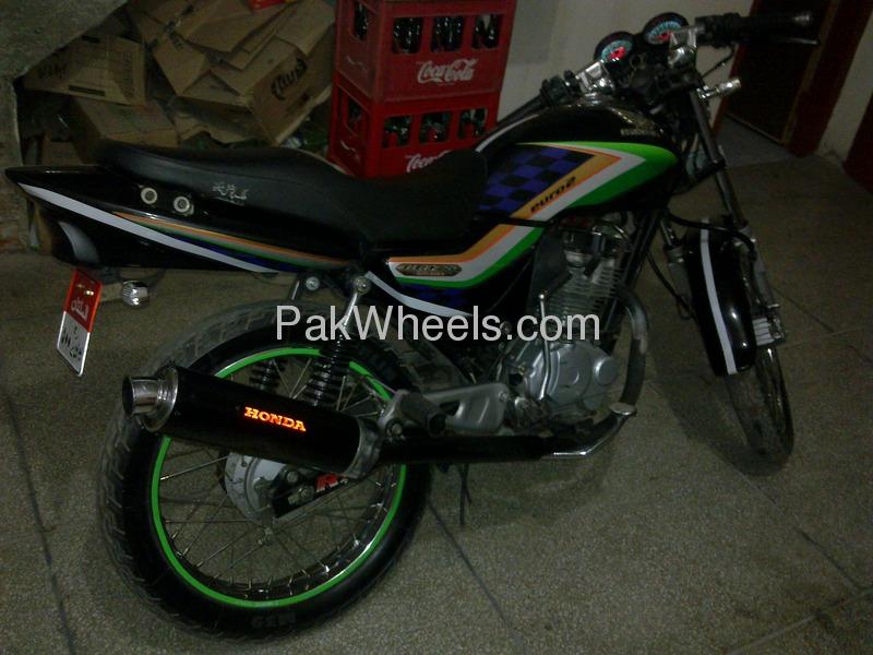 Honda CG 125 Deluxe of Syed Daniyal Shah - 72270