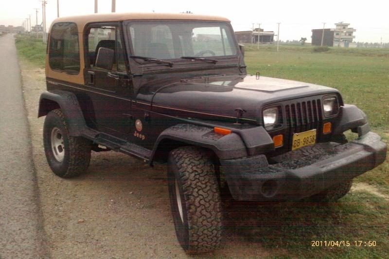 Jeep Wrangler - 1993 Black Beauty Image-1