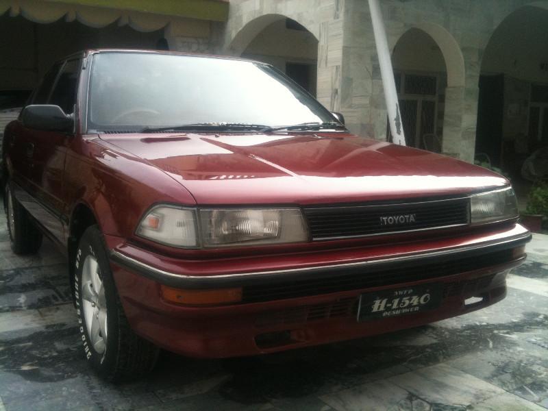 Toyota Corolla - 1990 ride Image-1