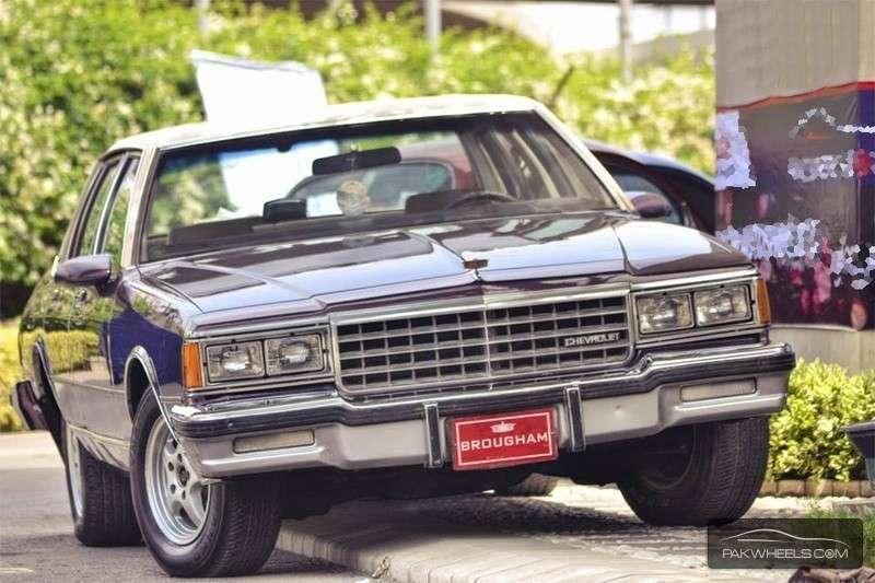 Chevrolet Caprice - 1985 Purple Stone Image-1