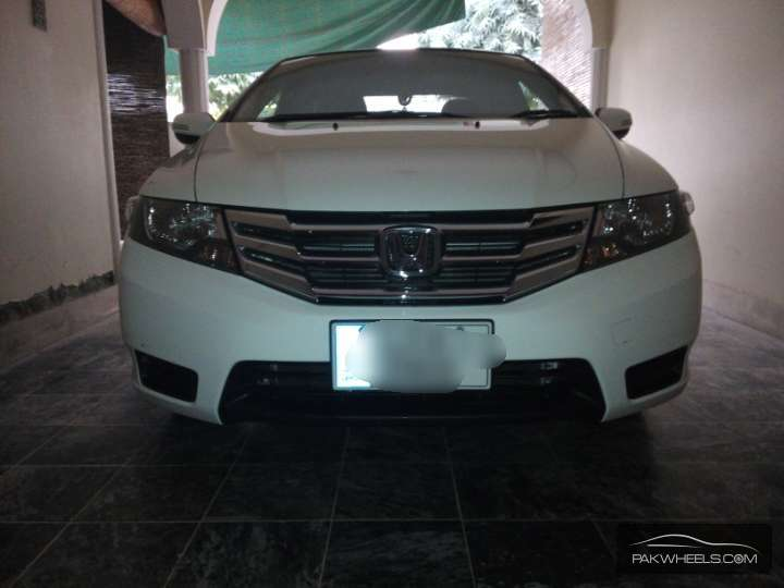 Honda City - 2014 white ghost Image-1