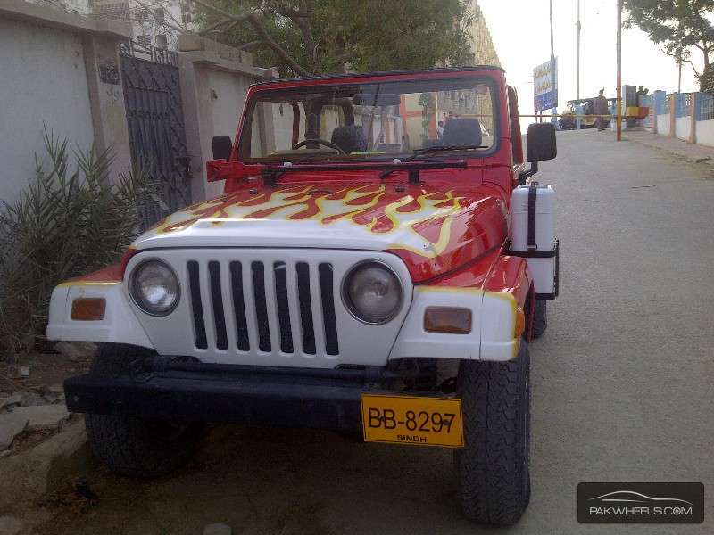 Jeep Wrangler - 2000 You name it Image-1