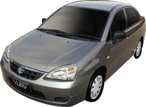 Suzuki Liana 2014 Exterior Front View