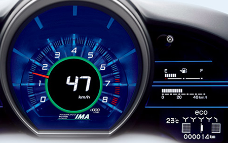 Honda CR-Z Sports Hybrid 2016 Interior Cluster