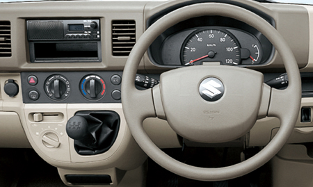 Suzuki Every  Interior Dashboard