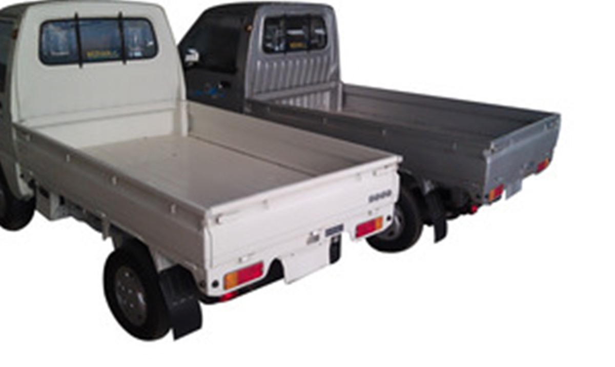 Sogo Pickup  Exterior Rear End