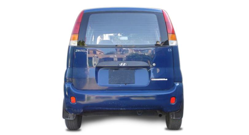 Hyundai Santro 2003 Exterior Rear End