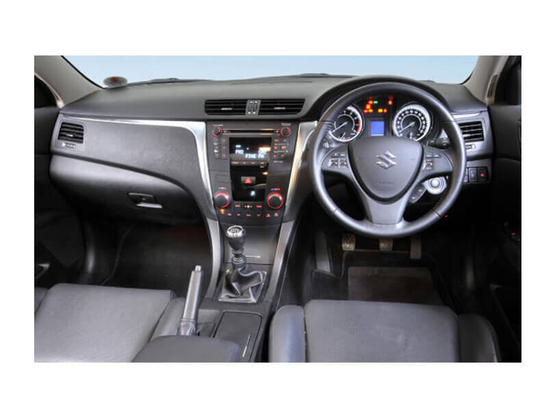 Suzuki Kizashi  Interior Dashboard