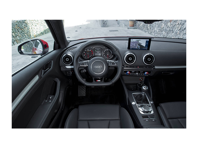 Audi A3 2020 Interior Dashboard