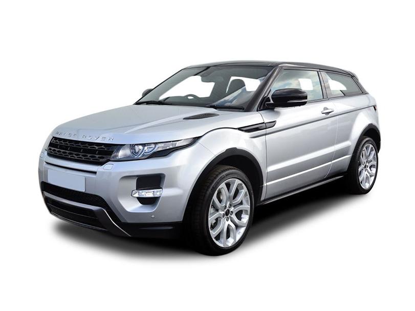 Range Rover Evoque Exterior Front Side View