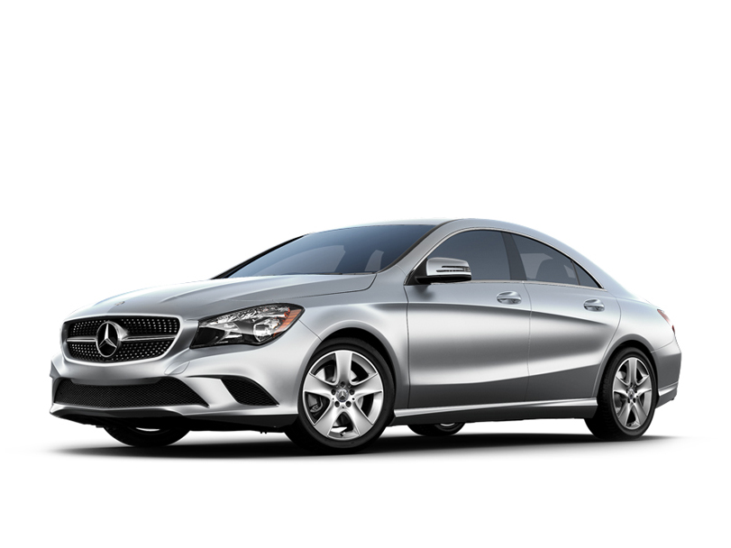 Mercedes Benz CLA Class  Exterior Front Side View