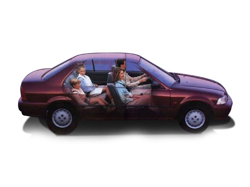 Honda City 2000 Exterior Side View