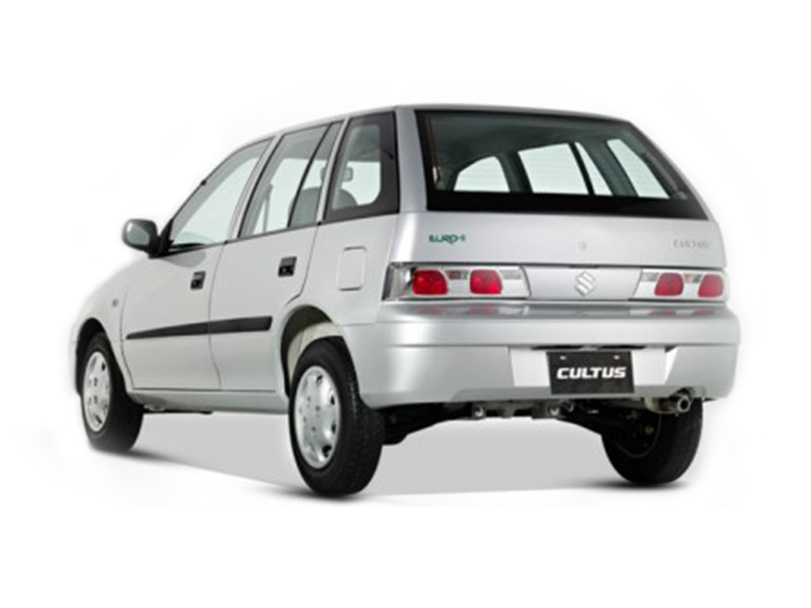 Suzuki Cultus 2017 Exterior Rear End