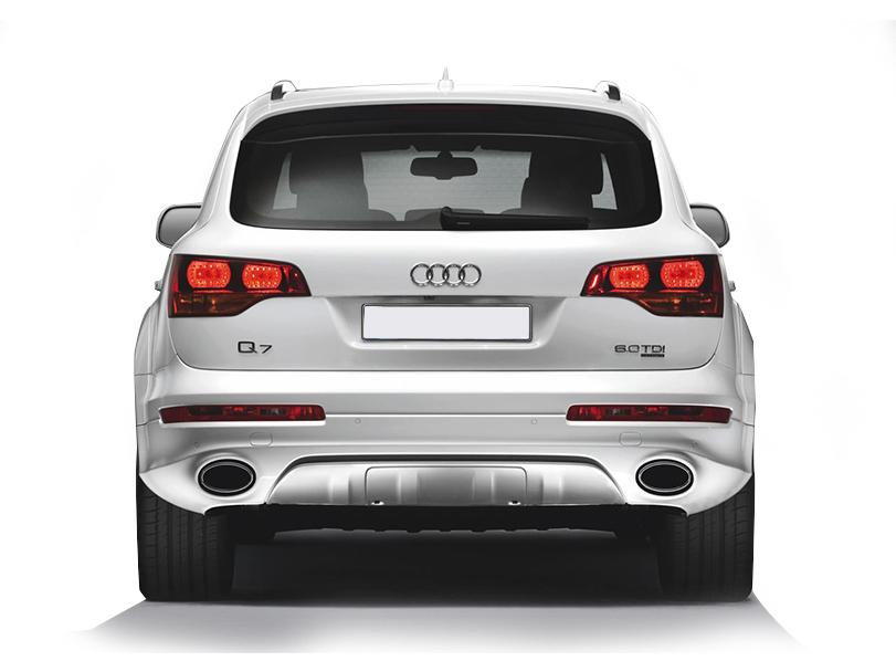 Audi Q7 2015 Exterior Rear End