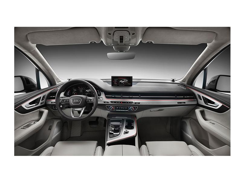 Audi Q7 2015 Interior Dashboard