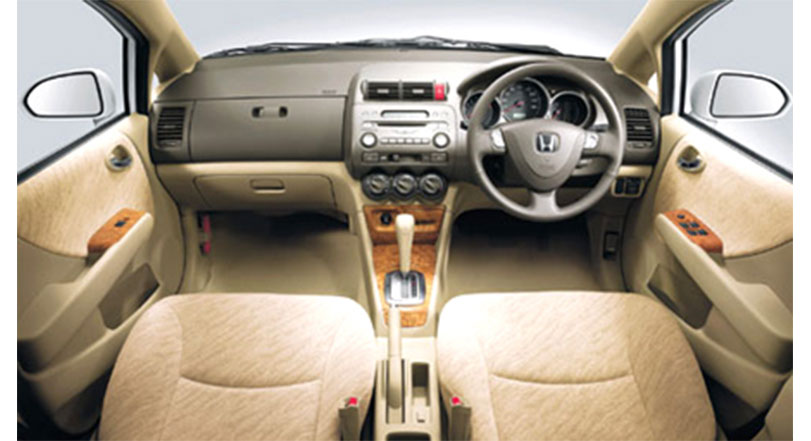 Honda City 2008 Interior Cabin