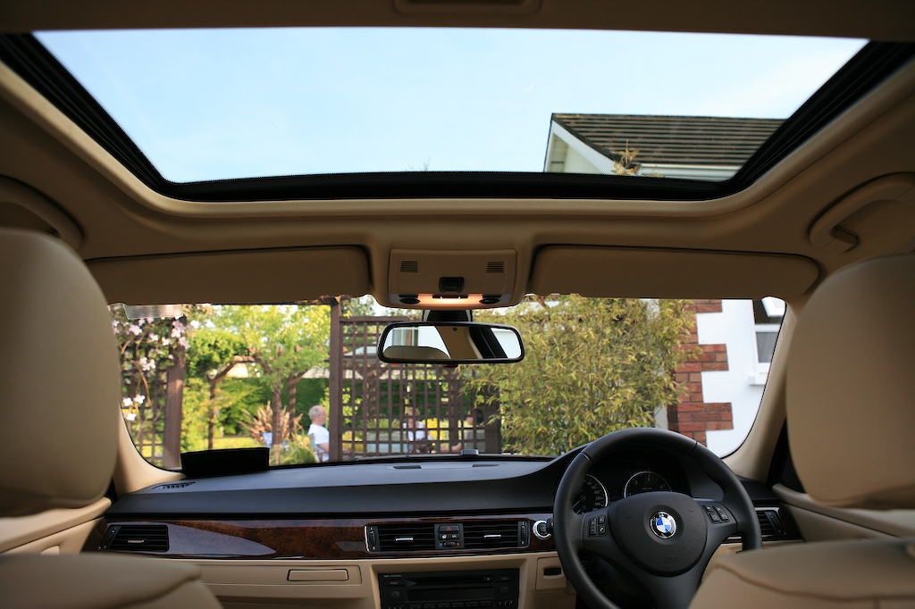 BMW 3 Series 2013 Interior Sunroof