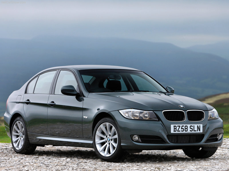 BMW 3 Series Exterior Front Side View