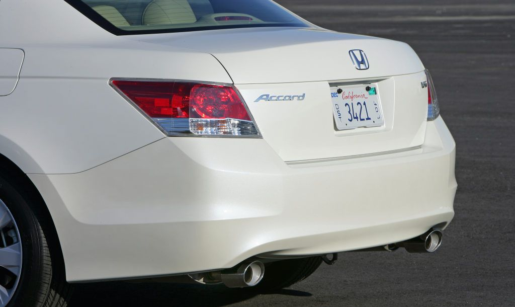 Honda Accord 2012 Exterior Rear End