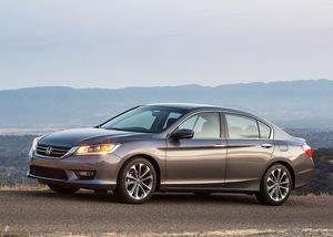 Honda Accord 2013 Exterior Side Views