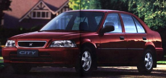 Honda City 2000 Exterior Front Side View