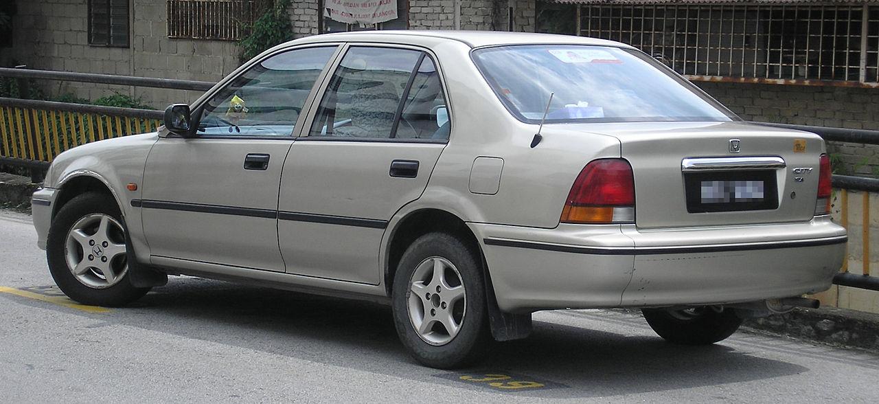 Honda City 2000 Exterior Rear Side View