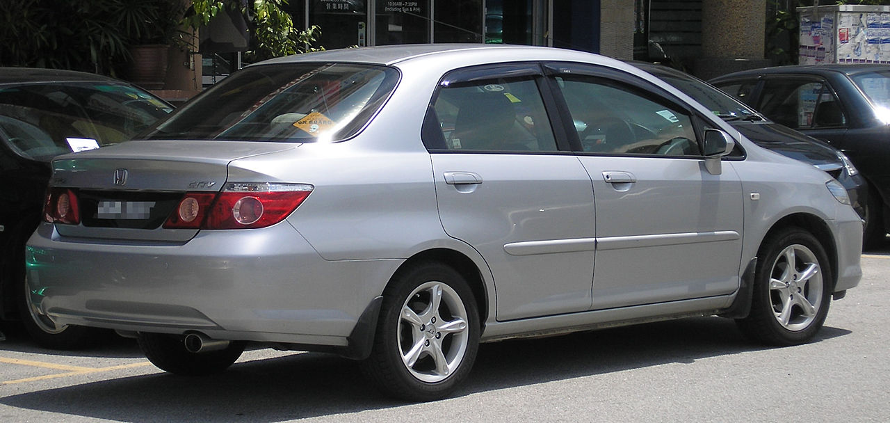 Honda City 2008 Exterior Rear End