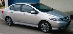 Honda City 2009 Exterior Side Views