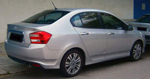 Honda City 2009 Exterior Rear Side Views