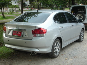 Honda City 2009 Exterior Rear Ends