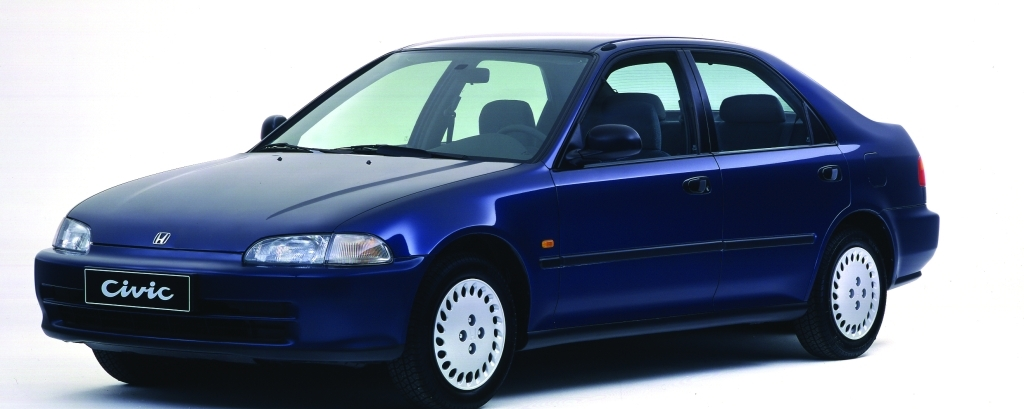 Honda Civic 1995 Exterior Front Side View