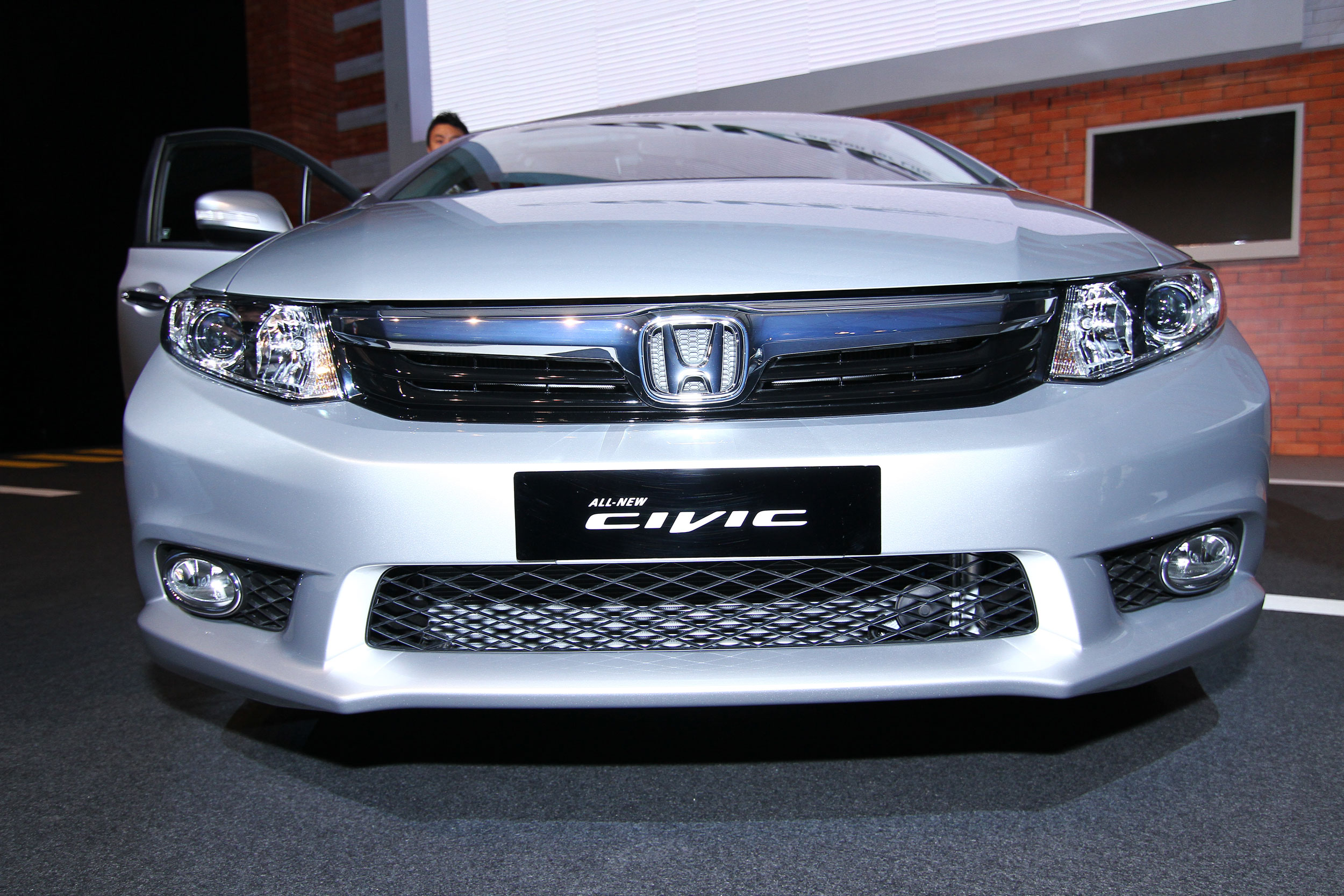 Honda Civic 2016 Exterior Front End