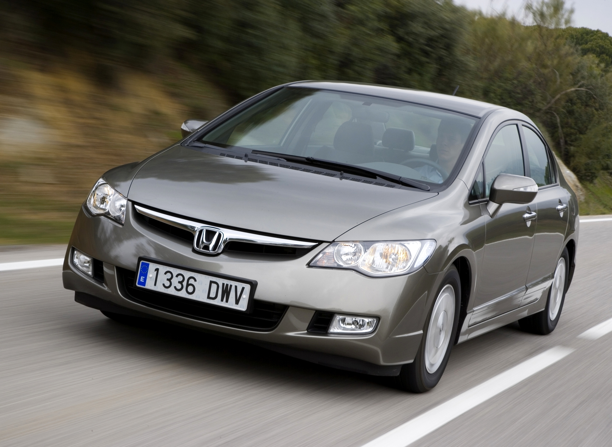 Honda Civic Hybrid 2010 Exterior Front End