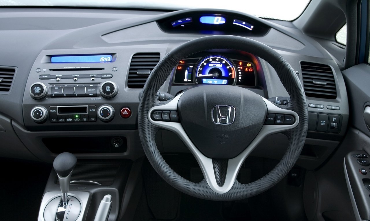 Honda Civic Hybrid 2010 Interior Dashboard
