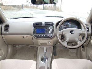 Honda Civic Hybrid 2005 Interior Dashboard