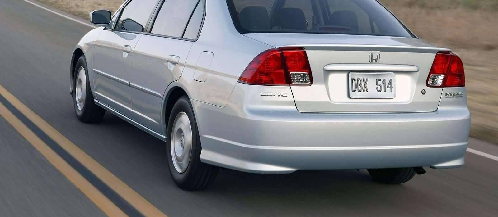 Honda Civic Hybrid 2005 Exterior Rear Side View