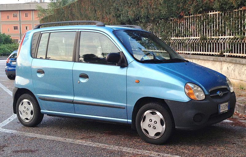 Hyundai Santro 2003 Exterior Side View