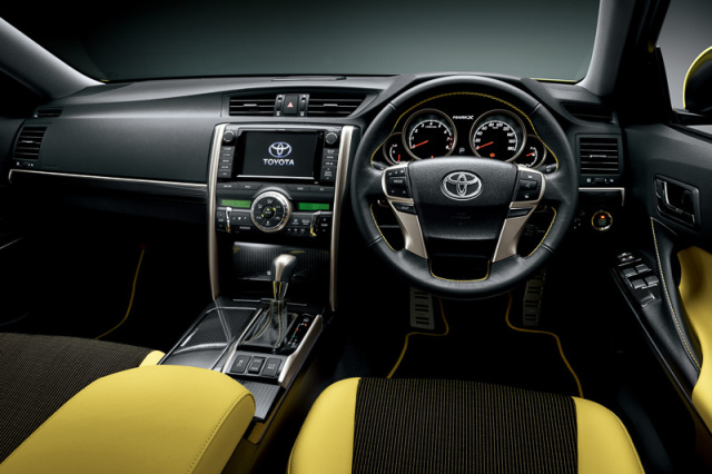 Toyota Mark X  Interior Dashboard