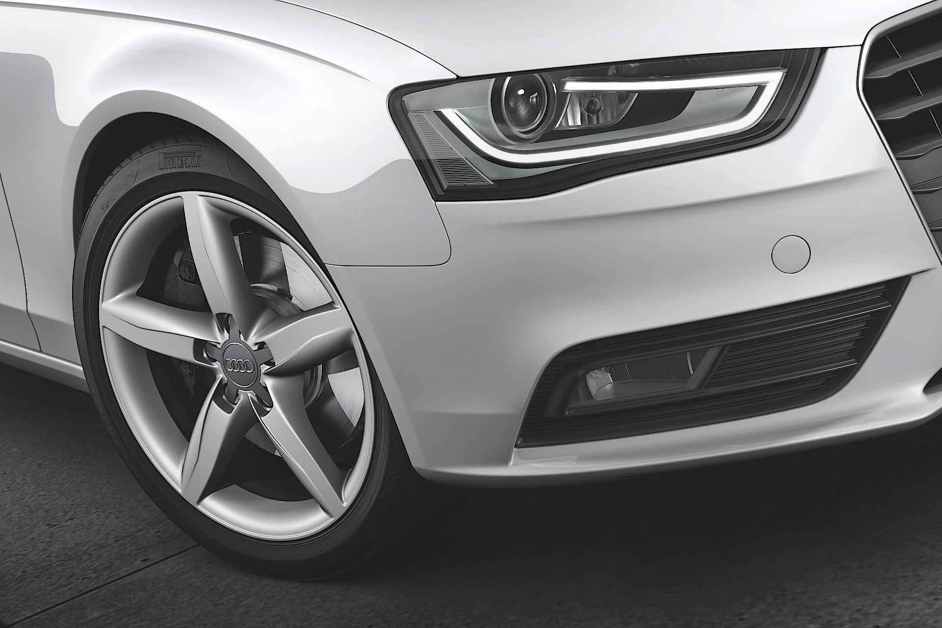 Audi A4 2016 Exterior Front Vire