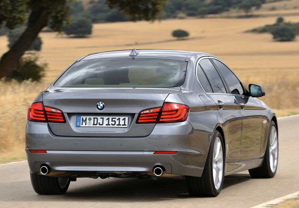 BMW 5 Series 2017 Exterior Rear View