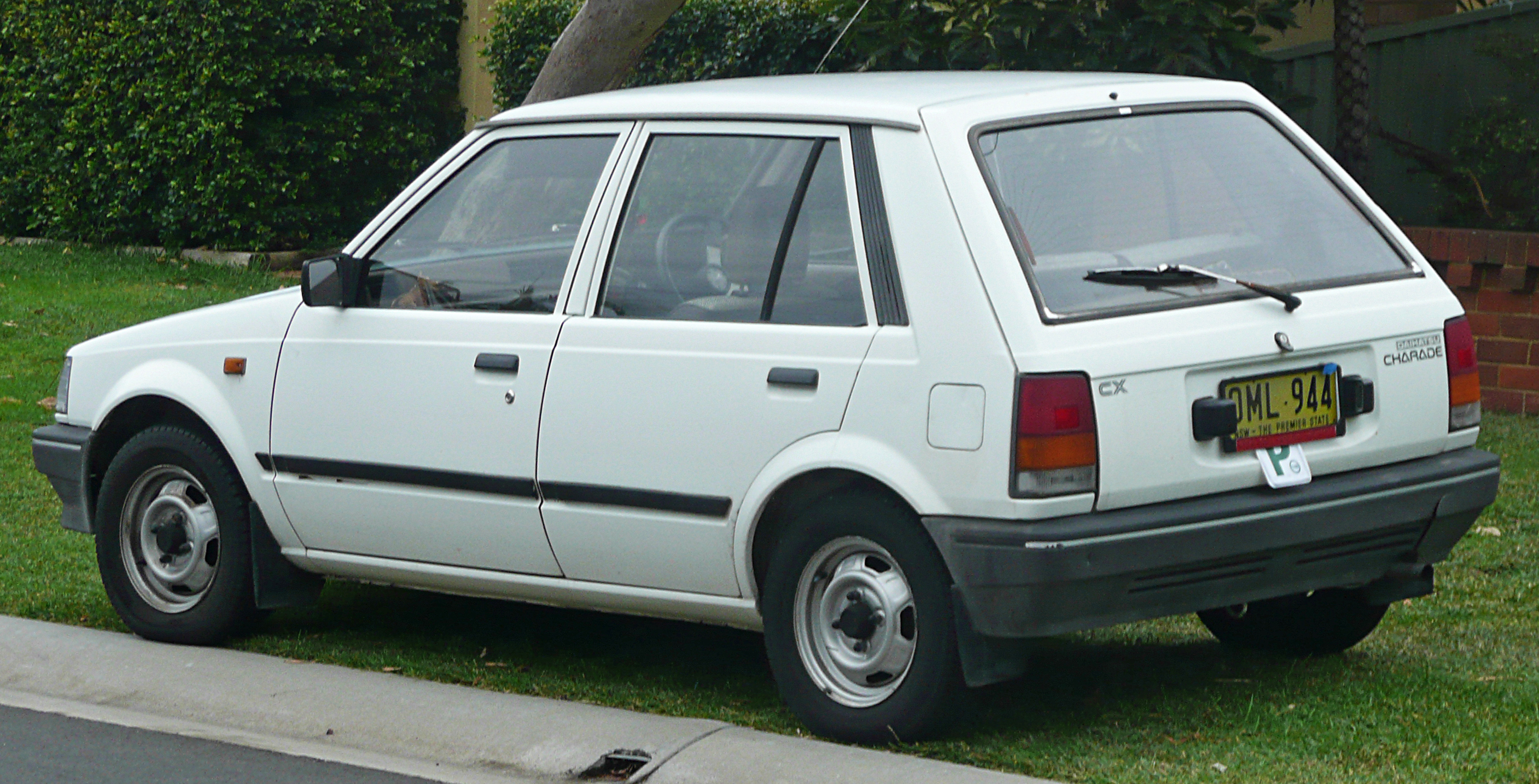 Daihatsu Charade 1987 Exterior Side View