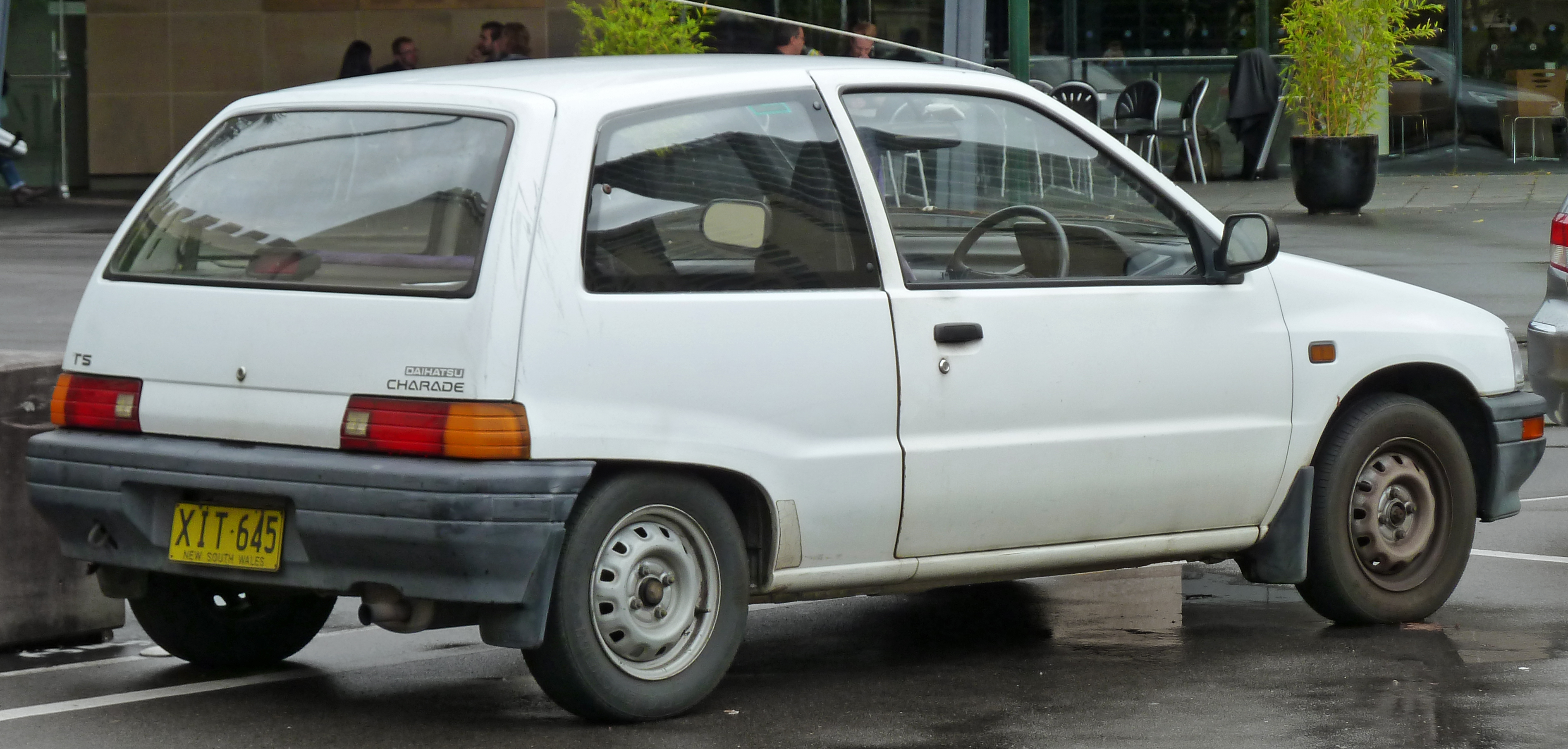 Daihatsu Charade 1993 Exterior Side View